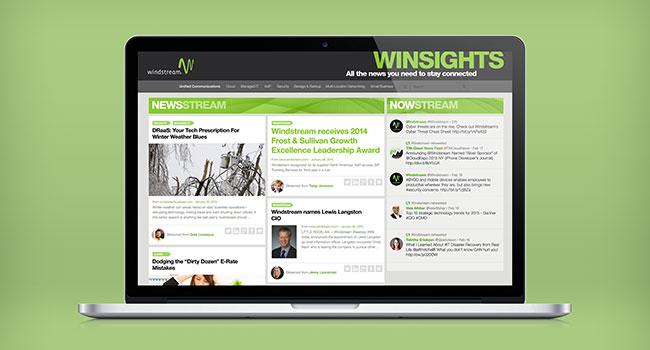 Windstream Content UI Design